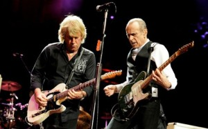 Rock duo Status Quo are to headline the second day of Wirral Rocks. Pic © Status Quo/Twitter