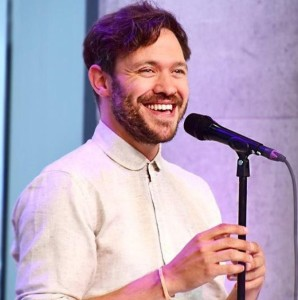 Singer Will Young is opening the charity concert in Prenton Park, Birkenhead, this May. Pic © Will Young/Twitter