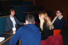 Students were inspired after a guest lecture from the Tim Hetherington Trust about the award-winning photojournalist.