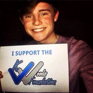 Britains Got Talent, James Smith, supports The K woods foundation. © The K Woods Foundation