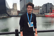 A man is hoping to complete 12 running events in as many months to raise charity cash.