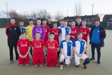 Eight young footballers from St Helens were given the chance to wear the famous red shirts of Liverpool FC.