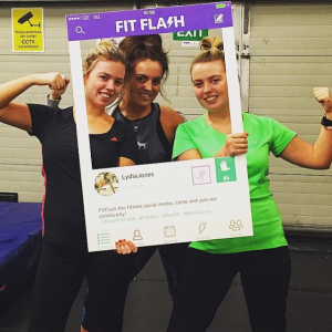 FitFlash users show their support © FitFlashApp