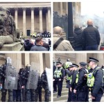 North West Infidels demonstration in Liverpool. Pics by Leigh Kimmins © JMU Journalism2