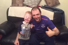 Everton player Seamus Coleman has donated £5,000 to help a young Toffees fan fulfil his Goodison Park wish.
