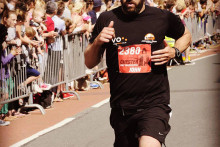 A man from the Wirral is running 10 marathons in 10 days to raise money for a local children's cancer charity.