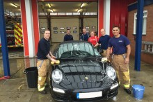 Firemen in Widnes and Runcorn will host a car wash in a bid to raise money for The Fire Fighters Charity.