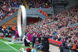 The 27th and final Hillsborough memorial service at Anfield. Pic by Conor Allison © JMU Journalism