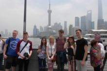 Students from Liverpool Screen School visit China as part of a university exchange trip with Zhejiang University.