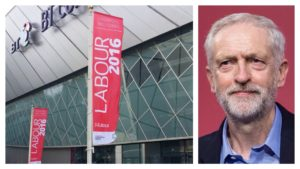 ACC Liverpool hosted the Labour Party conference, where Jeremy Corbyn was re-elected as its leader. Pics © ACC Liverpool / Jeremy Corbyn / Twitter