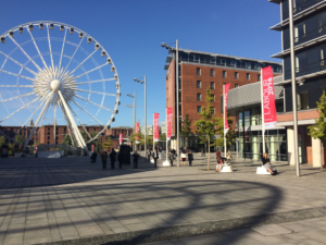 ACC Liverpool hosted the 2016 Labour Party autumn conference at King's Dock. Pic by Rhys Edmondson © JMU Journalism