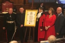 Decades of dedicated service to help the homeless on Merseyside earned the Whitechapel Centre the Freedom of Liverpool.