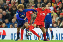 The two historic heavyweights of English football had to settle for a 0-0 draw as Manchester United held Liverpool at Anfield.