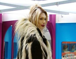 Pete Burns. Screengrab © Channel 4 Big Brother