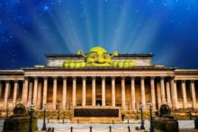 Animated children's characters such as Shrek will 'come to life' at a lantern show in St George's Hall.
