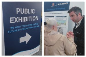St. Modwen's public consultation event in Kirkby. Photo © David Purcell