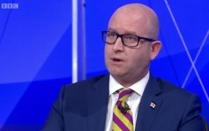 UKIP MEP Paul Nuttall. Screengrab © BBC Question Time
