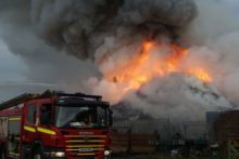 A large fire that raged for days at a recycling facility in Seaforth Docks has been extinguished.