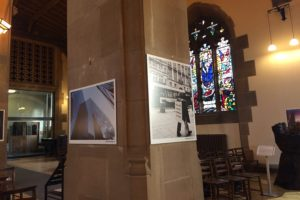 Commercial District Exhibition at Liverpool's Parish Church. Pic by Nicole Quinn © JMU Journalism