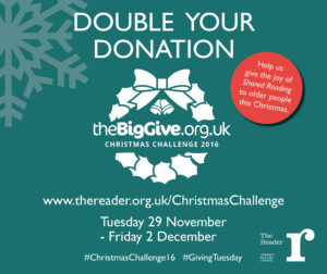 The Big Give Christmas Challenge. Pic © The Reader