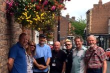 Oxton Village has won the Best Neighbourhood Award in a North West horticulture competition.