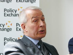 Birkenhead MP Frank Field. Pic © Policy Exchange/Wikimedia Commons