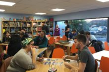 If you fancy a social occasion with a competitive edge, a board game café has opened its doors in town.