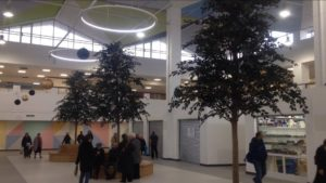 The new look St. John's marketplace, unveiled today Pic. by Andrew Nuttall © JMU Journalism