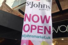 Liverpool's historic St John's Market reopened to customers following a £2.5m refurbishment.