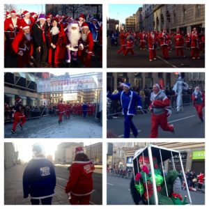 Liverpool Santa Dash 2016. Pics by Molly Copoc, Andrew Nuttall and Paige Freshwater © JMU Journalism