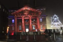 A captivating new lights display at Liverpool's Albert Dock has been launched for the Christmas period.