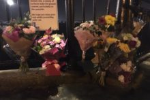 Flowers have been laid in tribute to a Merseyside woman whose body was in Liverpool Canning Half Tide Dock