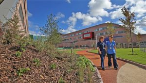 Old Alder Hey hospital to be demolished. Pic © Alder Hey Children's Hospital