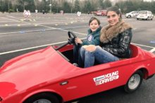 Local racecourses are making come true by offering driving lessons for children as young as five.