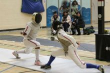 Liverpool hosted some of the world's top fencers at the Merseyside Open Fencing Tournament.