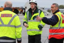 An exercise to test disaster emergency response procedures was staged at Liverpool's John Lennon Airport.