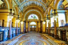 One of the hidden treasures of St George's Hall is going on show to the public again as the Minton Floor is revealed.