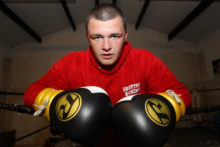 A boxer is celebrating his greatest comeback from being partially blinded to having his eyesight make a full recovery.