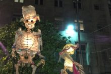 The Halloween Lantern Carnival lit up the streets of Liverpool as it made its way to the Albert Dock.