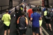 More than 2,000 people took on the challenge of completing the 12th Mersey Tunnel 10k race.