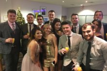 A record-breaking night at the third annual JMU Journalism Christmas Ball ensured a 'grand' total for Macmillan.