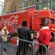 The famous red Coca-Cola Christmas truck returned to the city, but not without controversy in the build-up to its arrival.