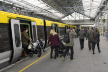 Stations across Merseyside are preparing for the arrival of new trains by upgrading existing platforms and tracks.