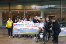 Hollyoaks actors went to Liverpool One to raise funds for Freshfields Animal Rescue Centre.