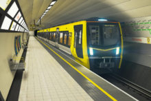 Merseyrail has revealed the designs at the heart of the industrial dispute over new driver-only trains.
