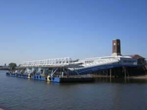 Seacombe Ferry Terminal, location for Eureka! Liverpool © JMU Journalism