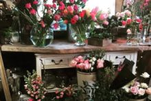 A Liverpool florist is celebrating her new business venture by giving back to charity for every bouquet she sells.