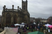 Winter chills may have been in the air but a Spring Festival came to St Luke's Church.