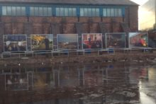 A new public art installation has opened in St Helens, alongside the Sankey Canal.