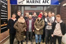 The Marine Travel Arena was the destination for JMU Journalism Sport on a live match trip.